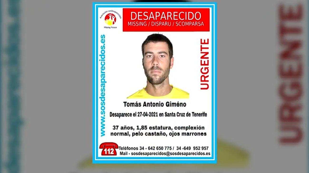 Tomás Gimeno, padre de Anna y Olivia, la niña cuyo cuerpo ha sido hallado sin vida