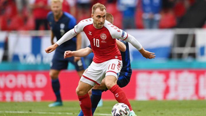 Eriksen da el gran susto de esta Eurocopa