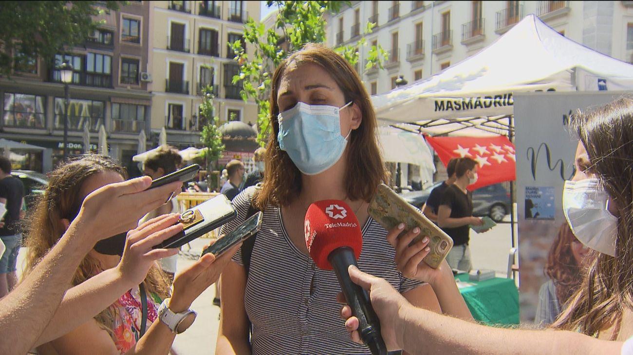 """Maestre tacha de """"humo"""" el proyecto de Almeida para Madrid Central"""