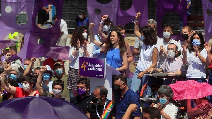 Ione Belarra, nueva líder de Podemos con el 85,61 por ciento de los votos