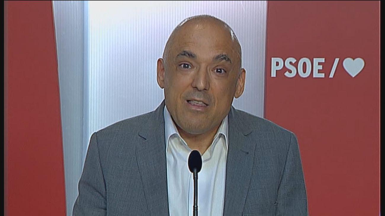 """El PSOE asegura que en la Plaza de Colón """"se promueve  la discordia, la división y la confrontación"""""""
