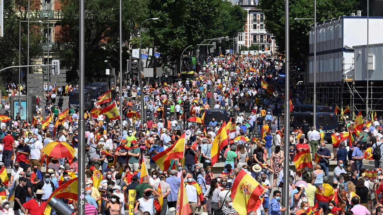 Especial - Manifestación en Colón contra los indultos del procés 13.06.21