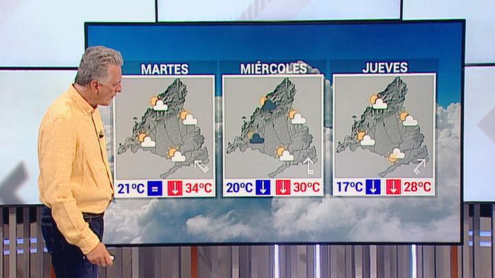 Madrid espera menos calor y algunas tormentas