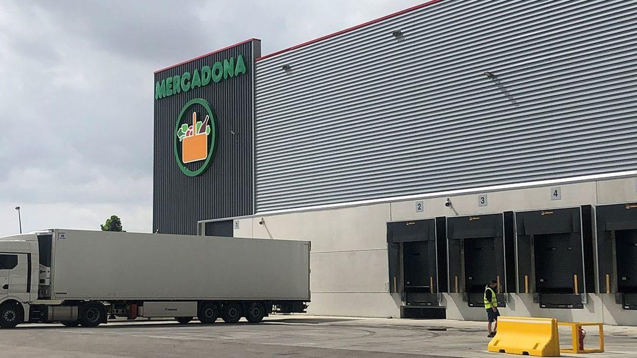 Bloque logístico de Mercadona en Getafe