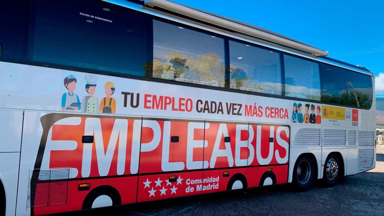 El Empleabus de la Comunidad de Madrid