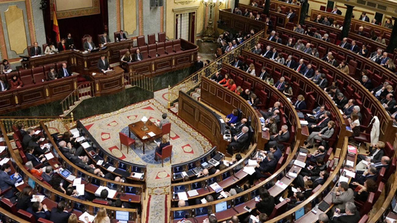 Sesión en el Congreso de los Diputados