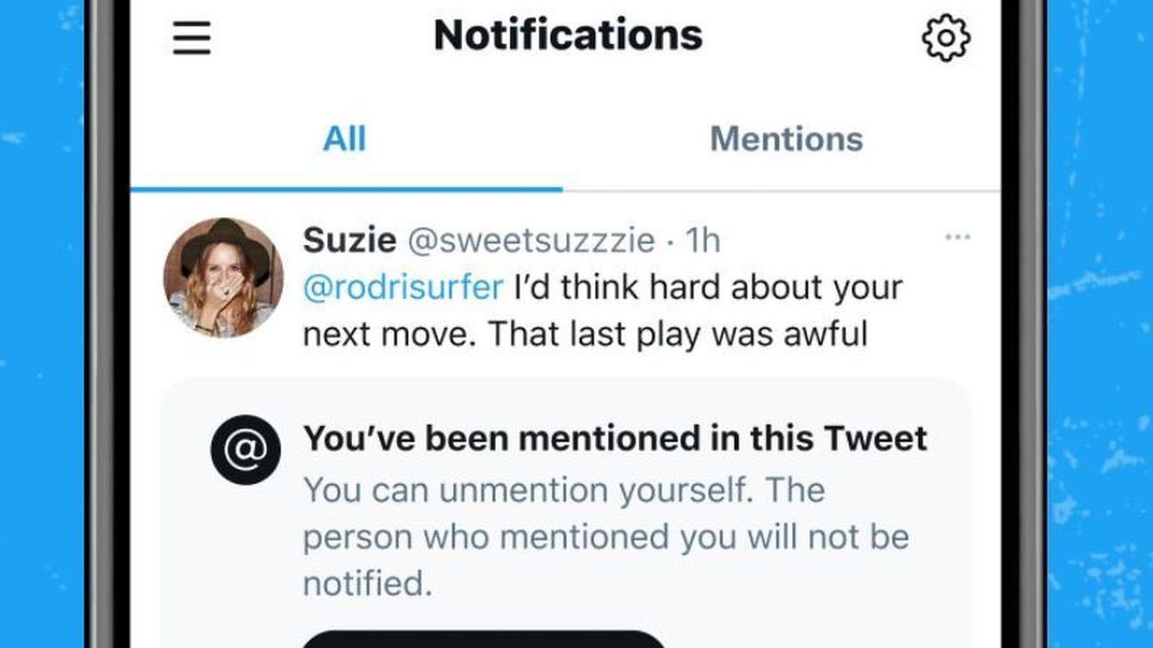 Twitter permitirá que te dejen de mencionar en algunas conversaciones