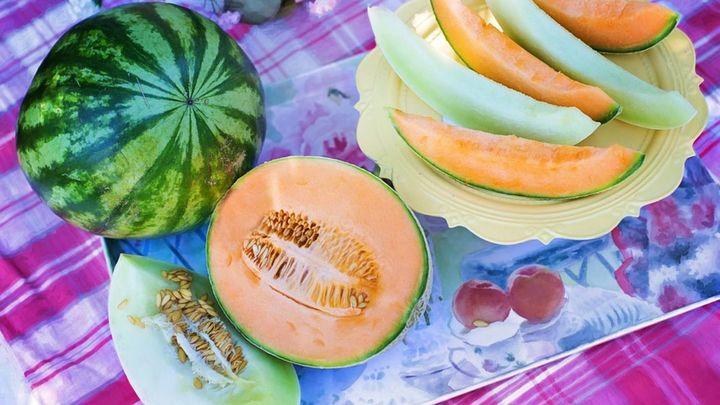 Cómo escoger bien el melón y la sandía