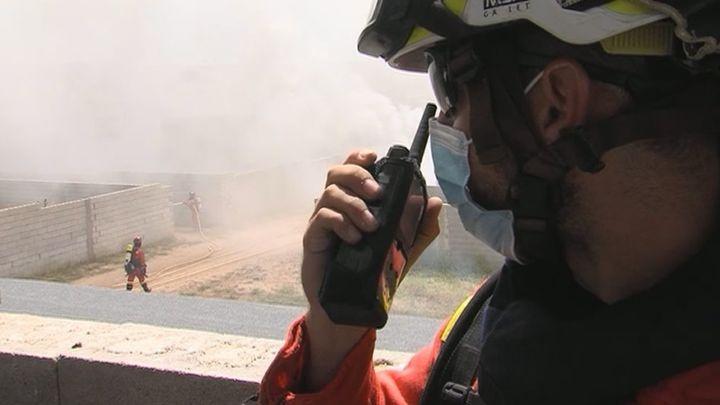 La UME se prepara para la campaña de incendios forestales