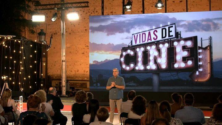 Flo recorre la Comunidad de Madrid buscando 'Vidas de cine' para Telemadrid