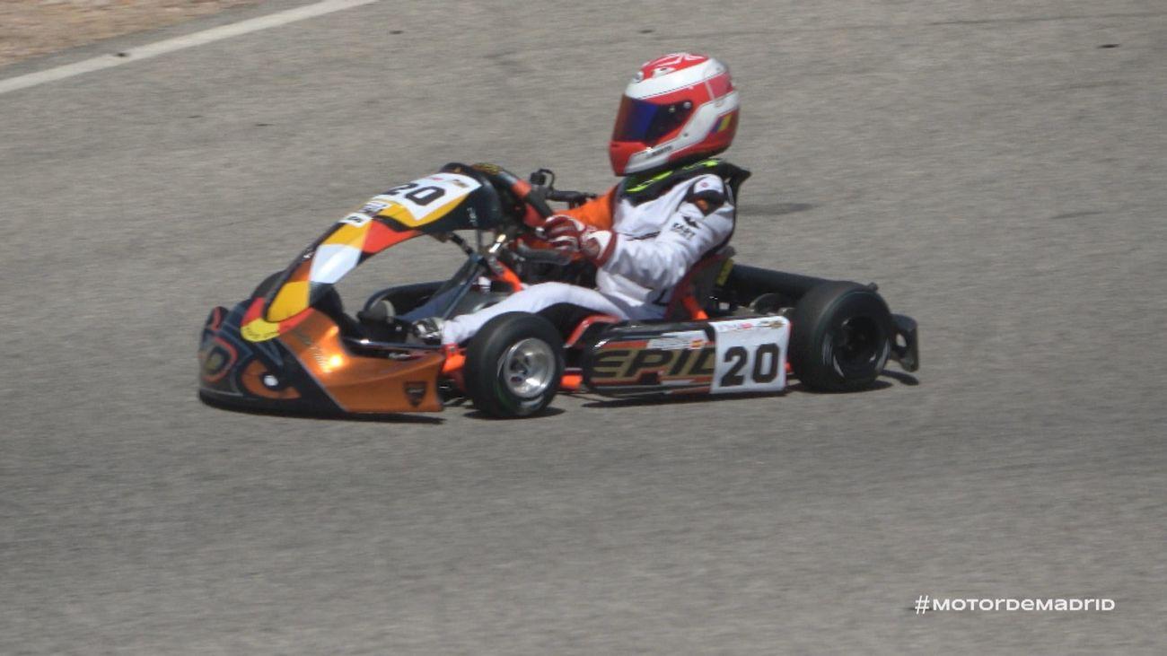 Tarancón acogió la primera prueba del Campeonato Madrileño de Karting