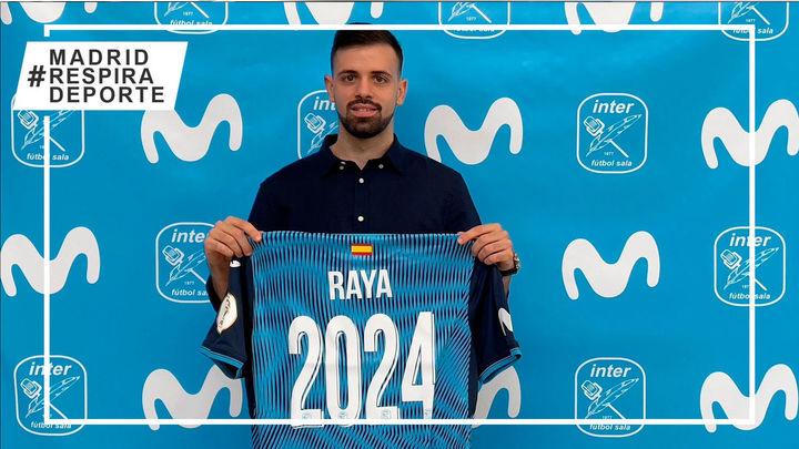 Raya renueva tres temporadas con Movistar Inter