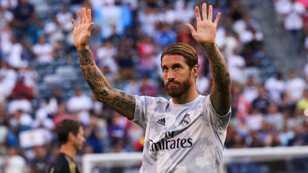 Despedida de Sergio Ramos del Real Madrid