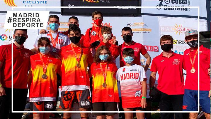 Gran papel del trial madrileño en la Copa de España en Guadalix de la Sierra