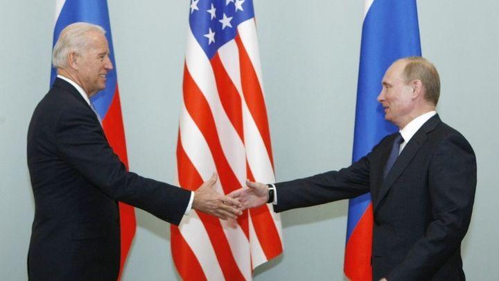 Biden y Putin se reúnen en Suiza