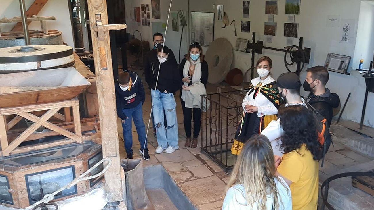 Visita al museo molinero de Morata de Tajuña