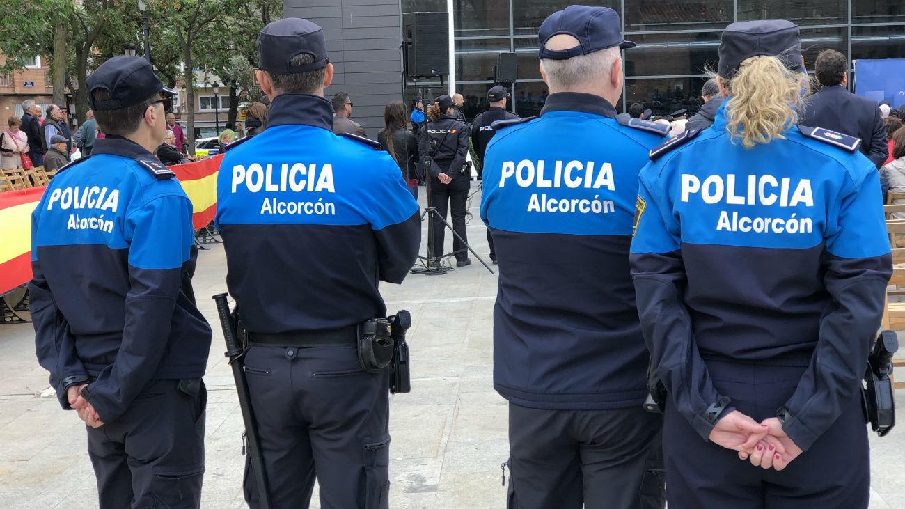 Agentes de la Policía Local de Alcorcón
