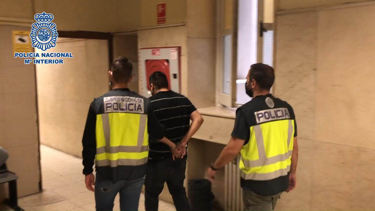 Cae en Madrid capital un grupo criminalespecializado en hurtos al descuido