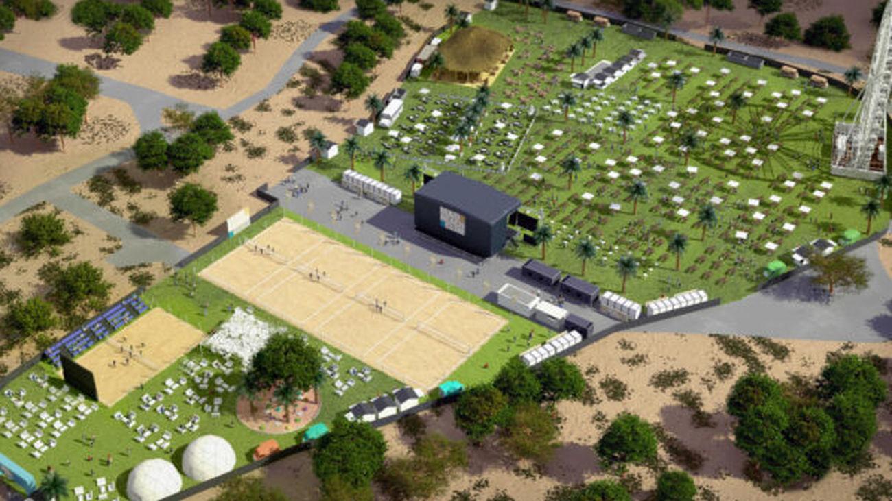 Abre MadBeach: Madrid ya tiene un club de playa pese a no tener mar