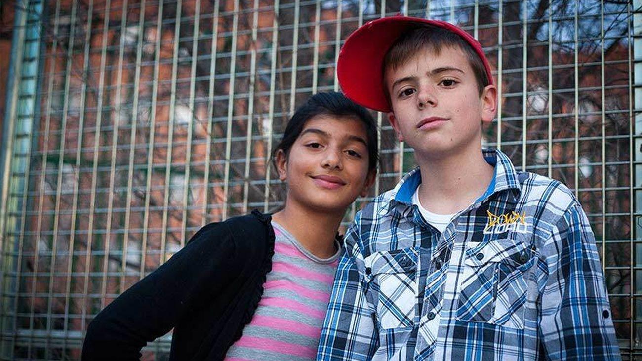 Menores en un programa de Unicef