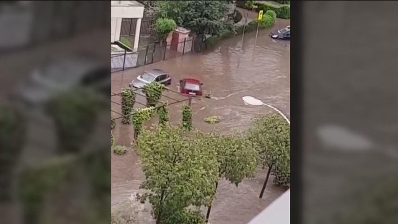 Fuenlabrada, uno de los municipios más afectados por las fuertes lluvias y el granizo
