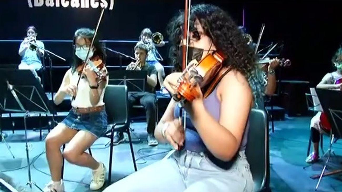 'Da la nota', un proyecto madrileño para transformar el mundo a través de la música