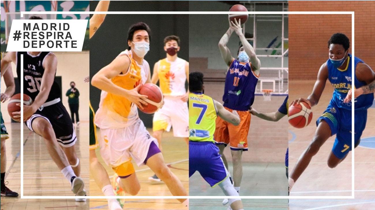 Torrelodones, Zentro Basket, Majadahonda y Torrejón