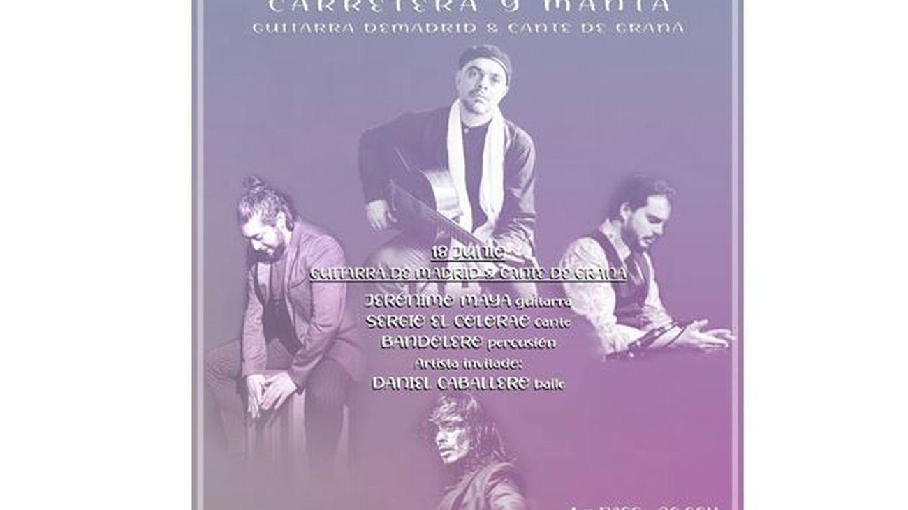 Jerónimo Maya, Sergio 'El Colorao', Bandolero y Daniel Caballero en la última de Amor de Dios