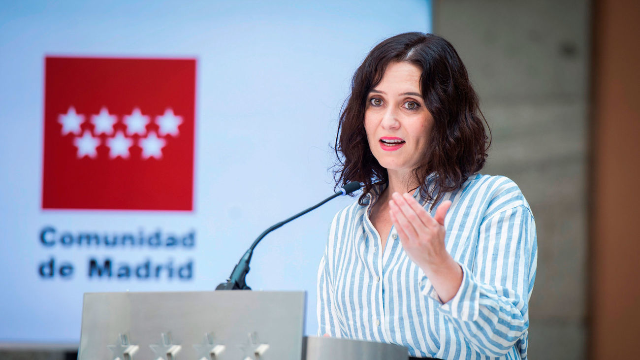 Discurso de investidura de Isabel Díaz Ayuso