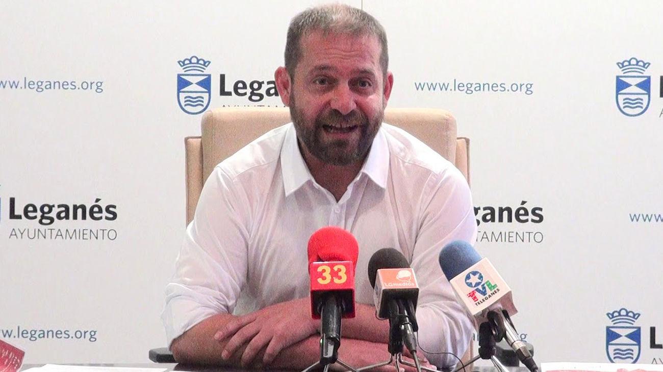 Fran Muñoz, concejal de Leganés de Más Madrid