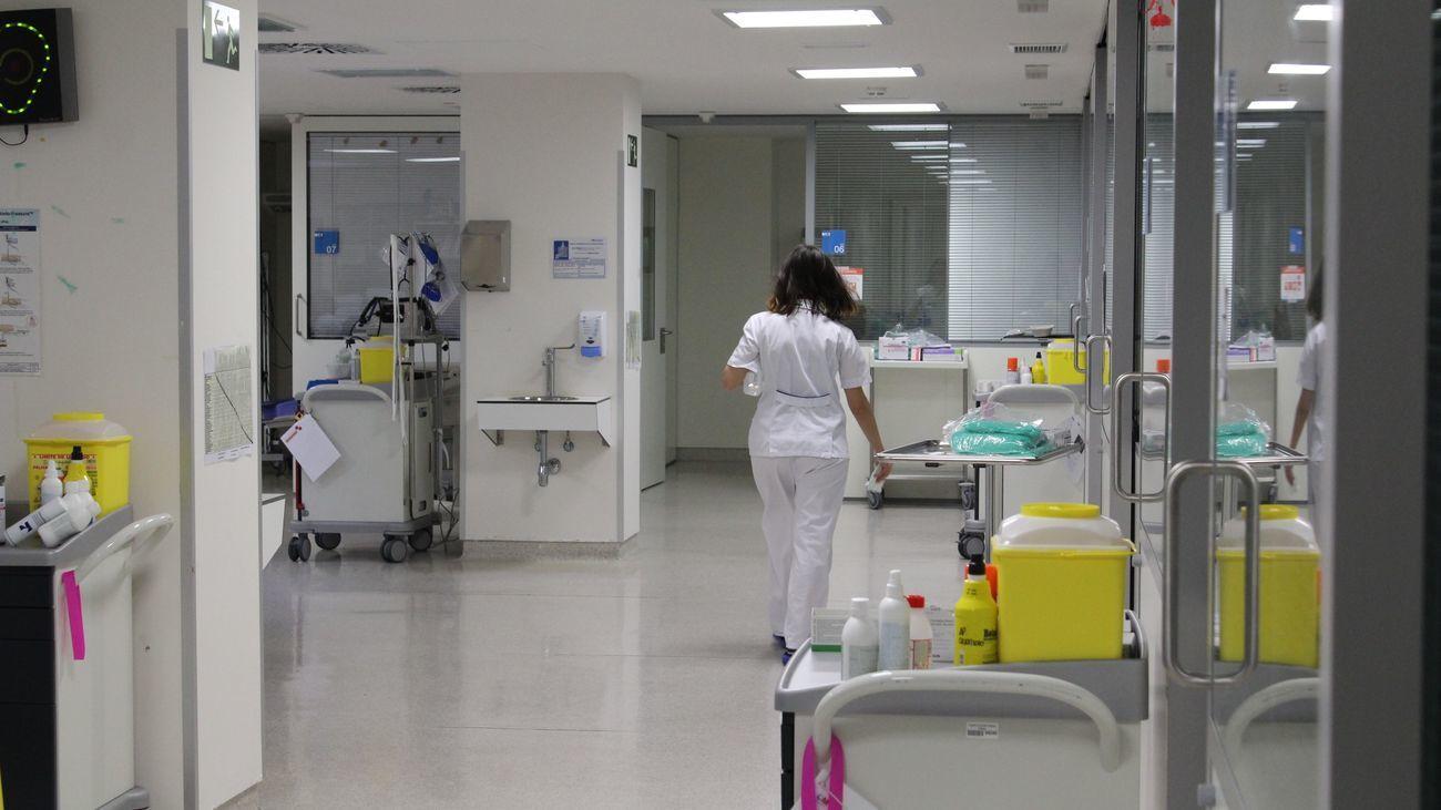 Interior del Hospital de Collado Villalba