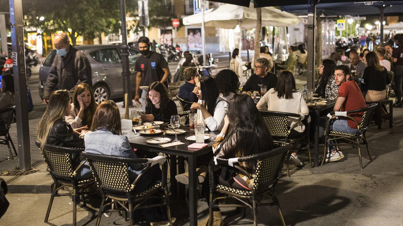 Los madrileños podrán dar su opinión sobre las  'terrazas covid' de Madrid