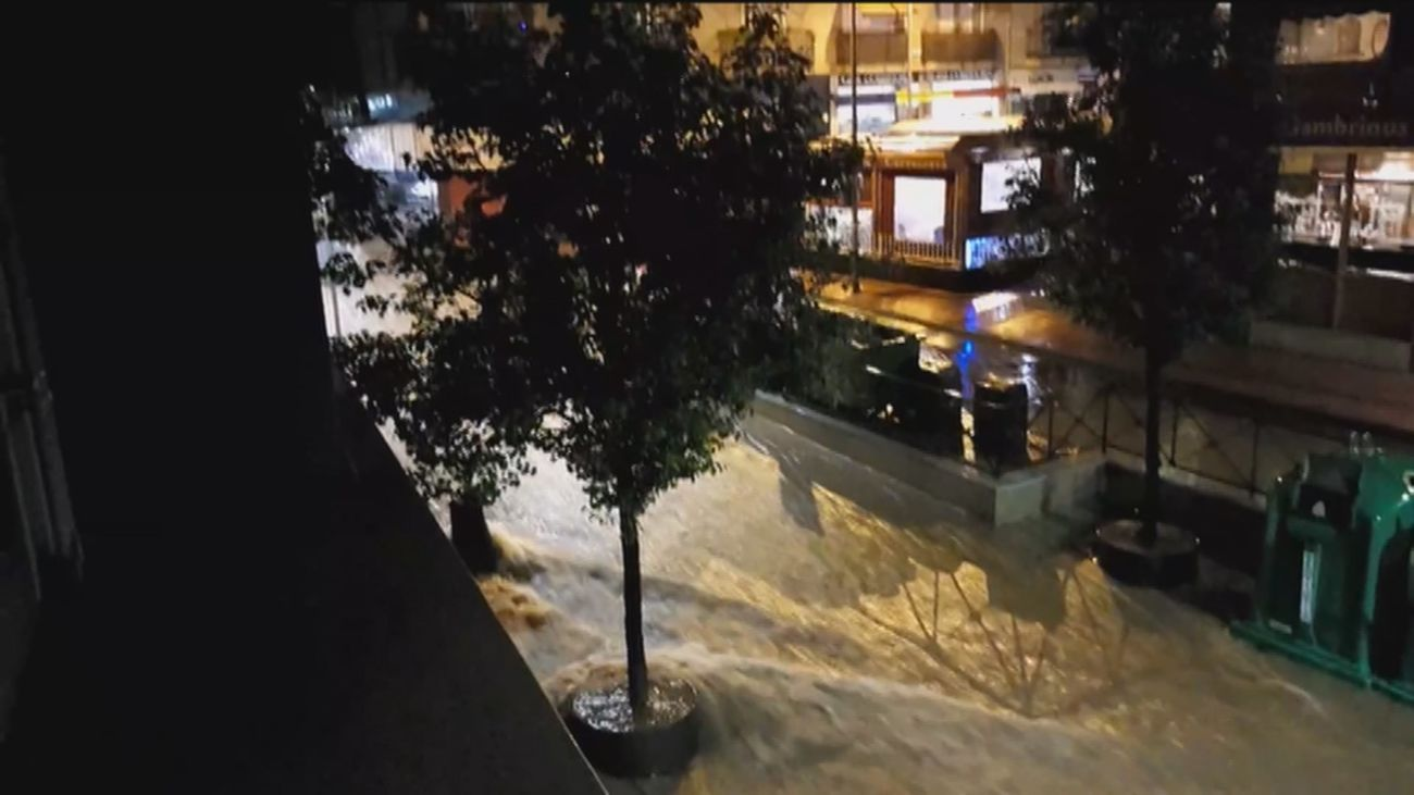 Inundaciones y riadas en Arganda del Rey