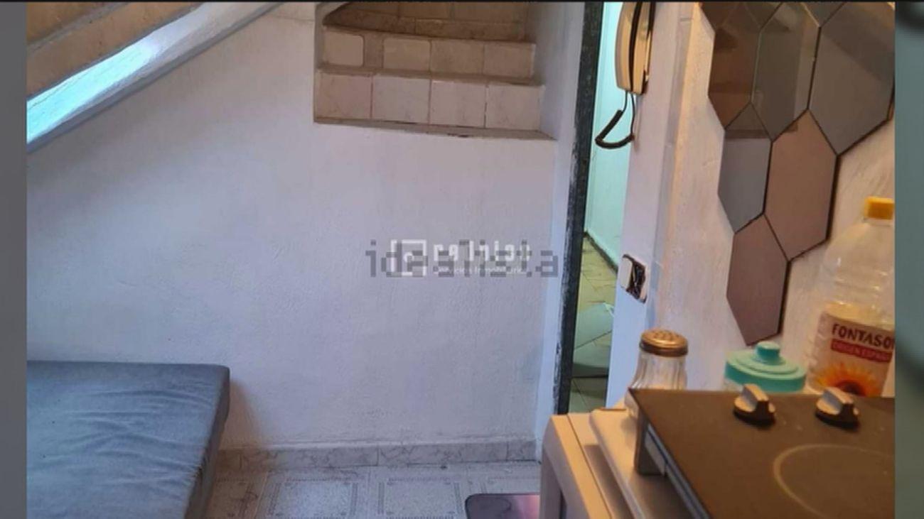 Se vende un zulo de 8 metros cuadrados en Huertas por 65.000 euros