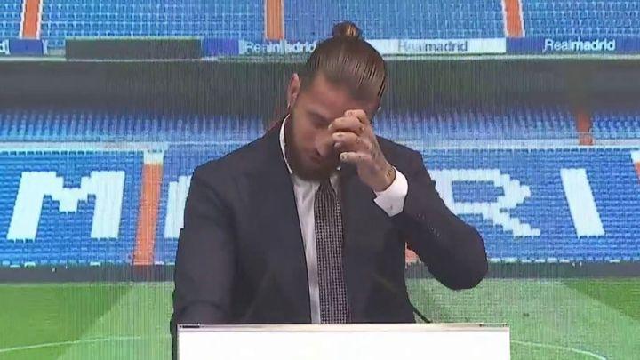 Así fue el emotivo discurso de adiós de Sergio Ramos