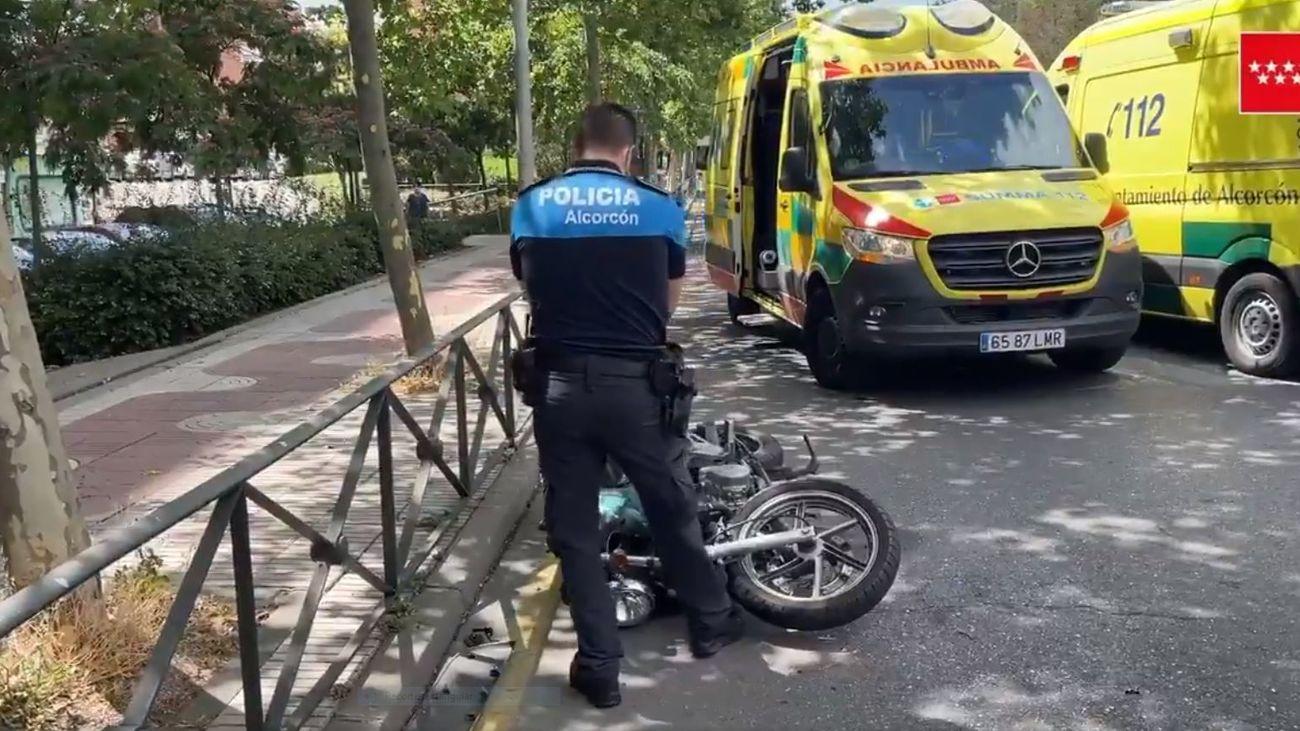 Accidente en Alcorcón