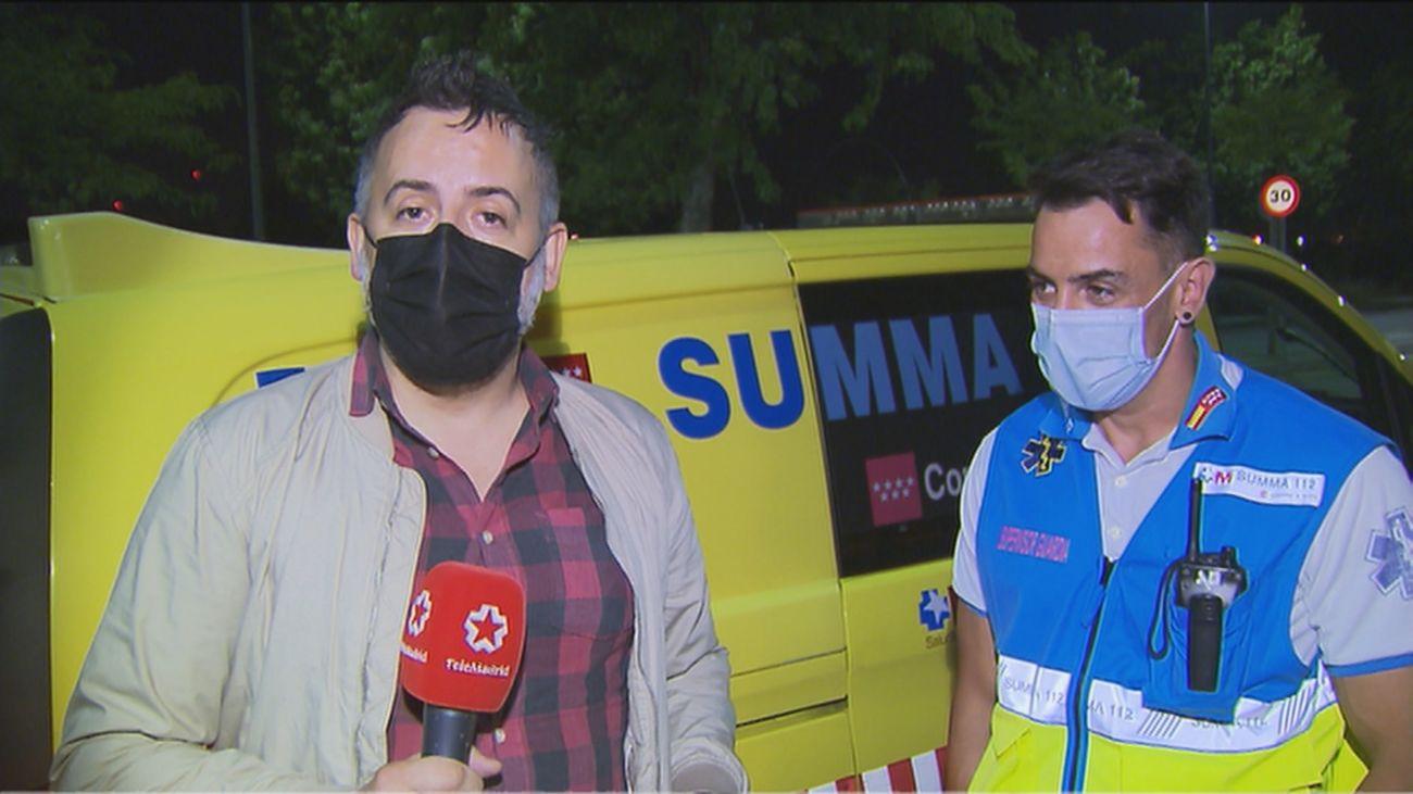 Pasamos una noche de guardia en Madrid con el Summa 112
