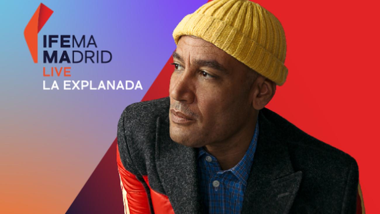 Cartel de la actuación de Ben Harper en el Ifema Madrid Live