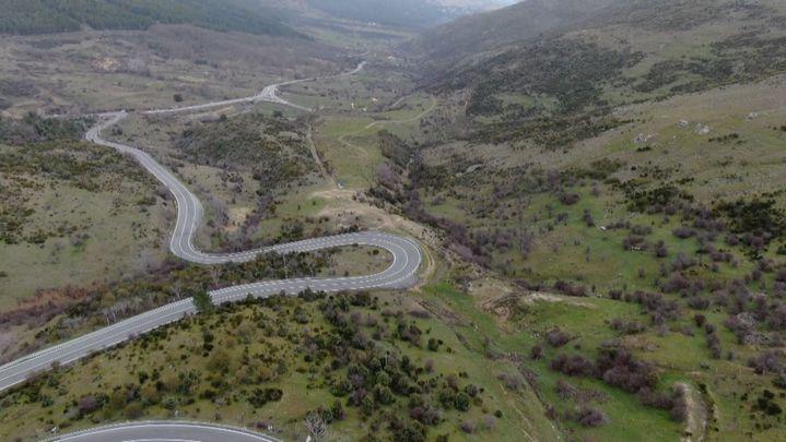 Madrid desde el aire: Carreteras secundarias