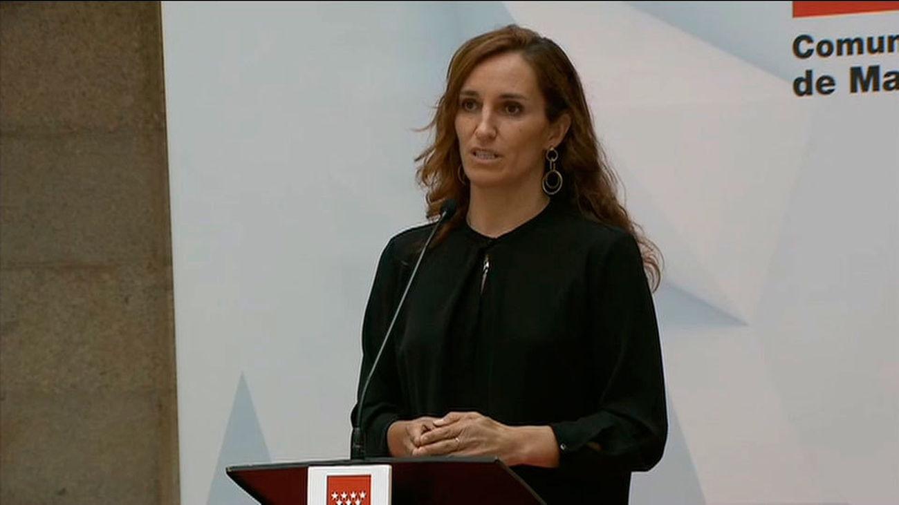 "Mónica García teme que Madrid se vaya a convertir en un ""laboratorio de extremaderecha"""