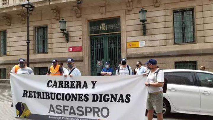 Decenas de militares se concentran en Madrid para reclamar un sueldo digno