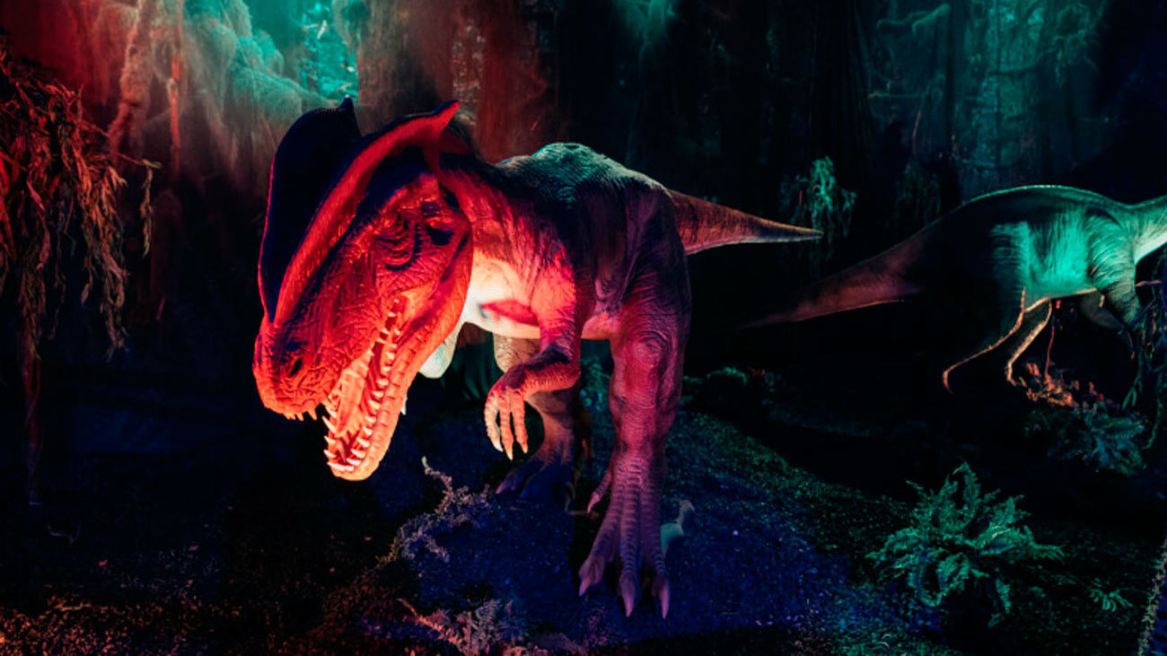 El mundo de los dinosaurios  se apodera de Madrid este verano