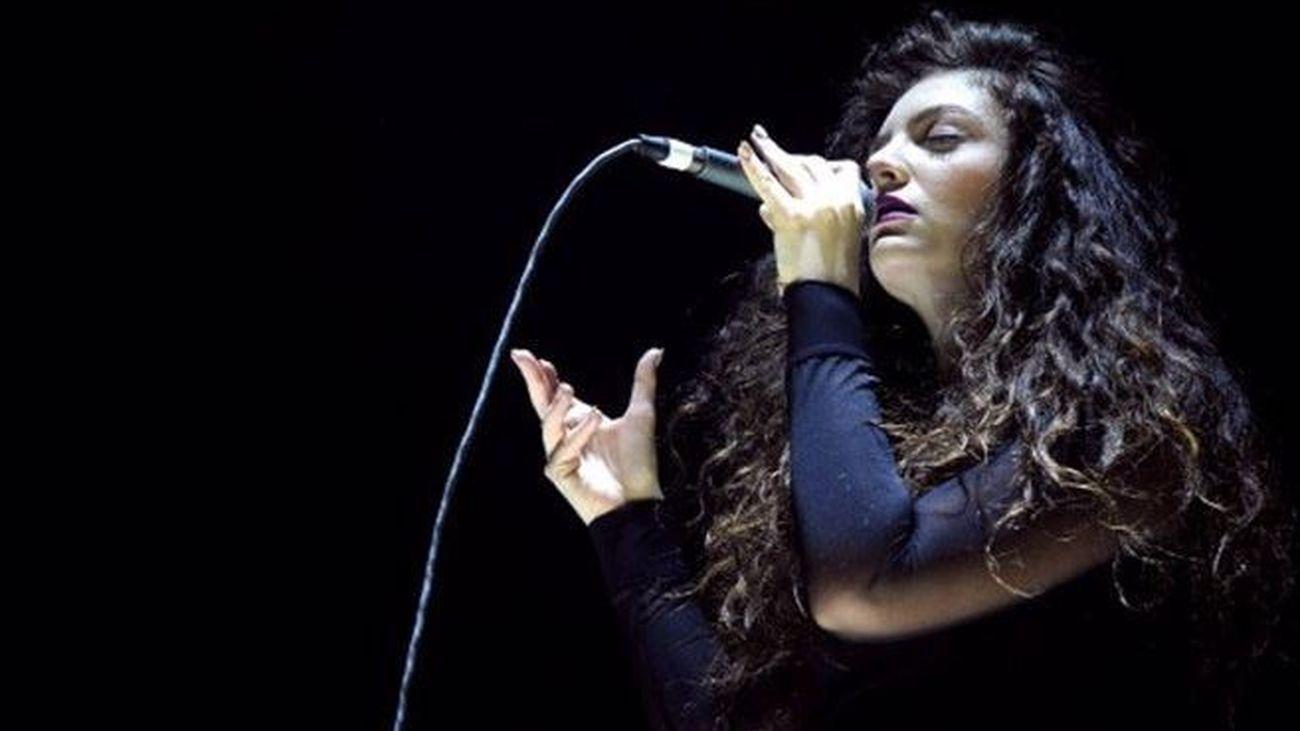 La artista Lorde