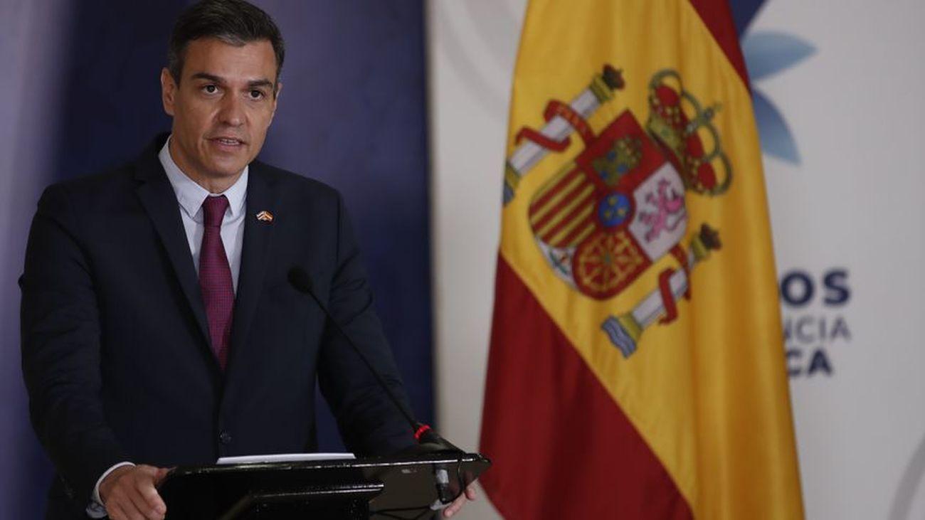 Sánchez aboga por mayor cooperación internacional para ayudar a los refugiados
