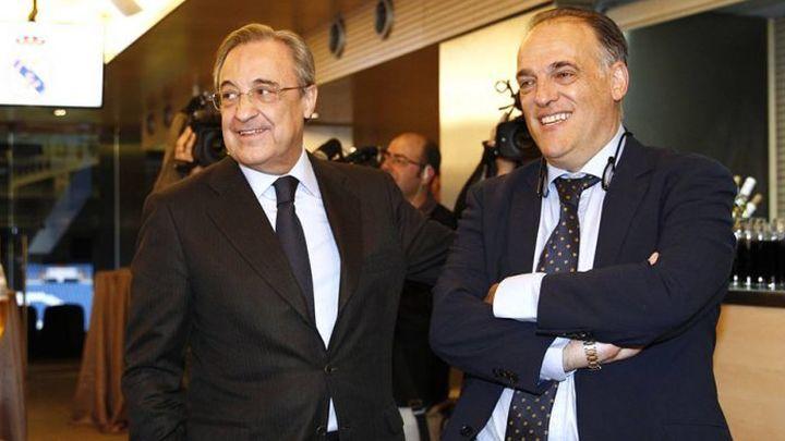 """Tebas: """"El Real Madrid es el que mejor ha gestionado la pandemia de Europa"""""""