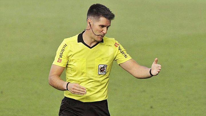 El árbitro madrileño Miguel Ángel Ortiz Arias asciende a Primera