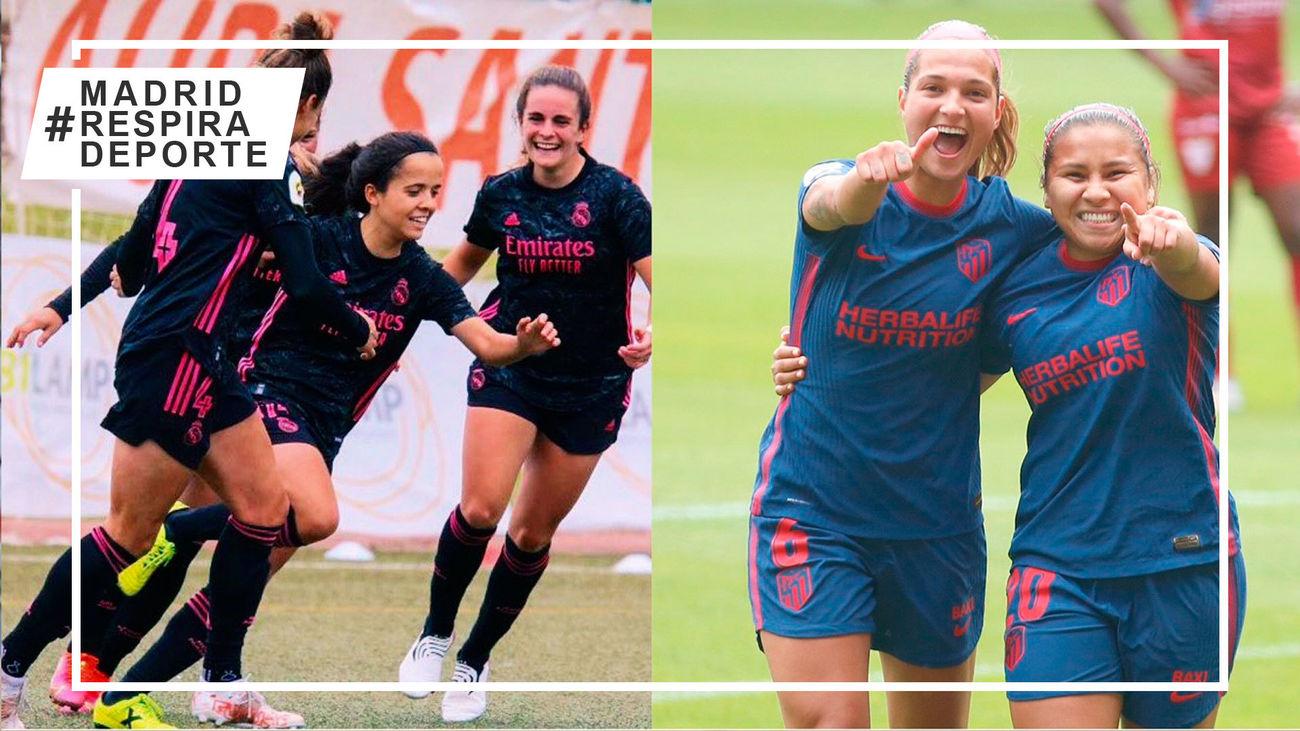 Real Madrid femenino y Atlético de Madrid femenino