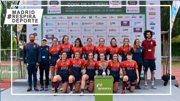 Majadahonda Rugby gana el primer asalto de la Copa de la Reina Seven