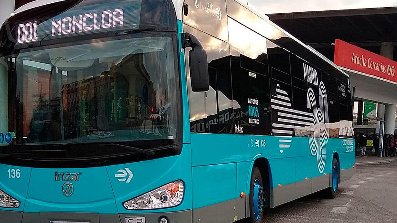 Autobús eléctrico de la EMT