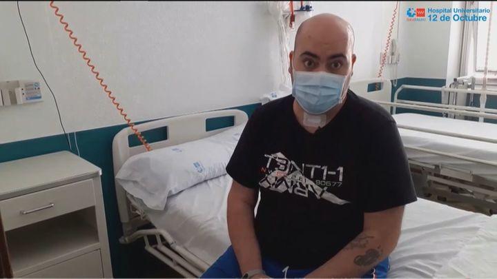 Salvan la vida a David, de Torrejón de Ardoz, gracias a un pulmón artificial